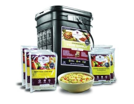 Wise Food Emergency Freeze Dried Entrees, 120 Servings - 01-120