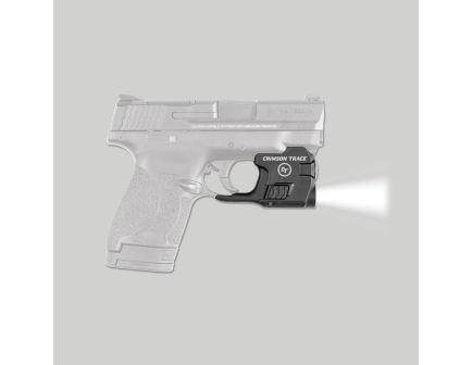 Crimson Trace Lightguard 100 lm White LED Tactical Weapon Light, Black for S&W 9mm and 40 Pistols - LTG770
