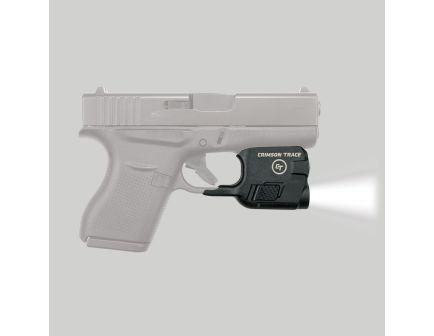 Crimson Trace Lightguard 100 lm White LED Tactical Weapon Light, Black for Glock G42 and G43 Pistols - LTG773