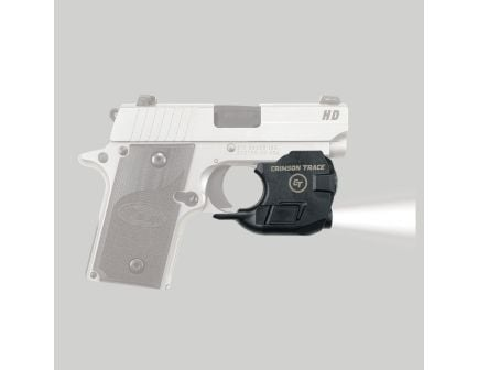 Crimson Trace Lightguard 100 lm White LED Tactical Weapon Light, Black for Sig Sauer P238 and P938 Pistols - LTG776