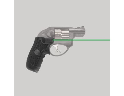 Crimson Trace Front Replacement Green Laser Grip for Ruger LCR Pistols and LCRX Revolvers, Black - LG415G