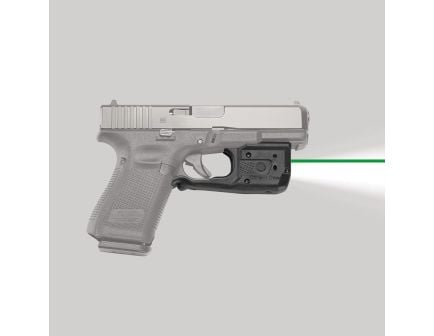 Crimson Trace Laserguard Pro Green Laser Sight and Tactical Light for Glock Gen3 G17 Pistol - LL807G