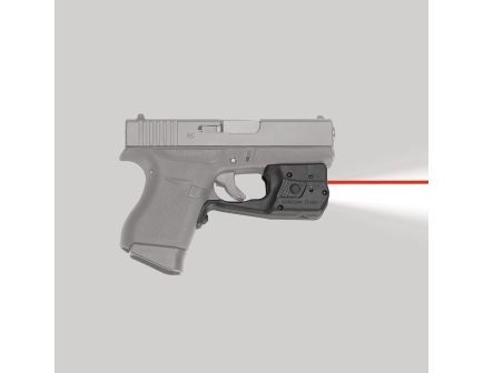 Crimson Trace Laserguard Pro Red Laser Sight and Tactical Light for Glock G42, G43 Pistols - LL803
