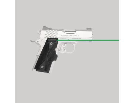 Crimson Trace Front Replacement Laser Grip for 1911 Compact Pistol, Black - LG404G