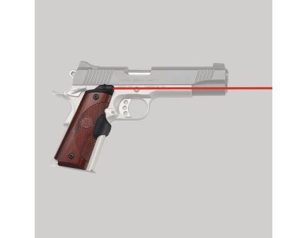 Crimson Trace Master Series Front Replacement Laser Grip for 1911 Full-Size Pistol, Rosewood - LG901