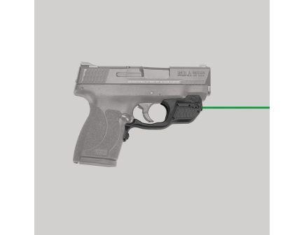 Crimson Trace Laserguard Green Laser Sight for S&W M&P Shield 45 ACP Pistols - LG485G