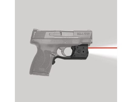 Crimson Trace Laserguard Pro Red Laser Sight and Tactical Light for S&W M&P Shield 45 ACP Pistols - LL808
