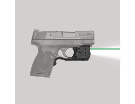 Crimson Trace Laserguard Pro Green Laser Sight and Tactical Light for S&W M&P Shield 45 ACP Pistols - LL808G