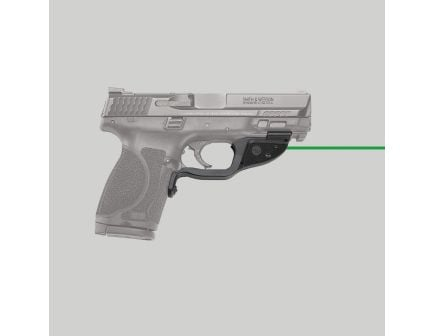 Crimson Trace Laserguard Green Laser Sight for S&W M2.0 Full-Size and Compact Pistols - LG362G