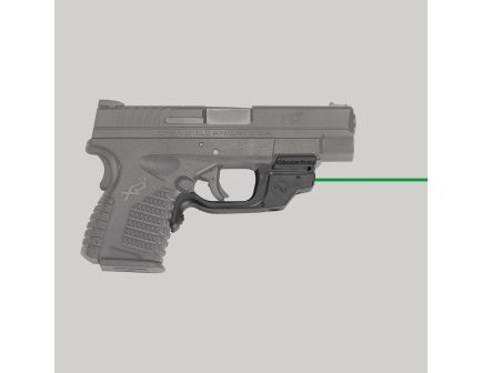 Crimson Trace Laserguard Laser Sight for Springfield Armory XD-S 3.3 and 4 Pistols - LG469G