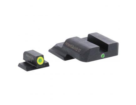 AmeriGlo I-Dot Front/Single Dot Rear Night Sight Set for M&P Pistols - SW301
