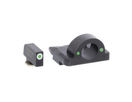 AmeriGlo Ghost Ring Front/Rear Night Sight Set for Glock 17, 19, 22 and Gen 1, 4 Pistols - GL125