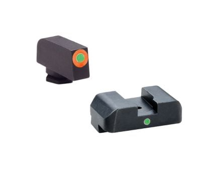 AmeriGlo I-Dot Front/Single Dot Rear Night Sight Set for Glock 20, 21, 29, 30, 31, 32, 36, 41 and Gen 1, 4 Pistols - GL203