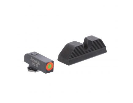 AmeriGlo UC Front/Rear Sight Set for Glock 17, 19, 22, 23, 24, 26 and Gen 1, 4 Pistols - GL353