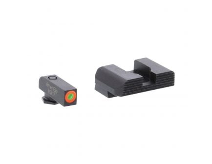 AmeriGlo Hackathorn Front/Rear Sight Set for Glock 42, 43, 43X, 48 Pistols - GL436
