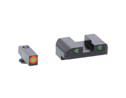 AmeriGlo Spartan Operator 3 Dot Front Night Sight Set for Glock 20, 21, 29 Pistols - GL448