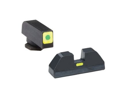 AmeriGlo CAP Front/Rear Sight Set for Glock 20, 21, 29, 30, 31, 32 Pistols - GL615