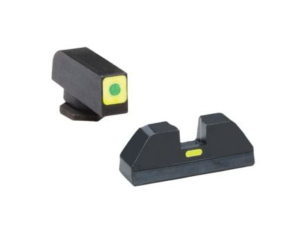 AmeriGlo T-CAP Front/Rear Sight Set for Glock 42, 43, 43X, 48 Pistols - GL605