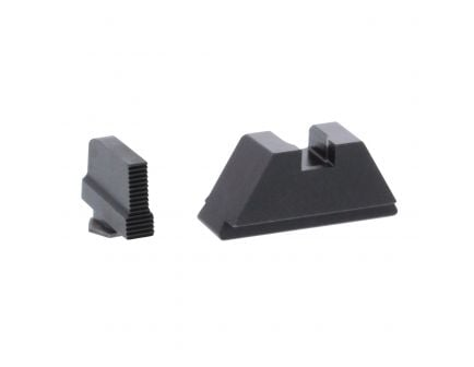 AmeriGlo Tall Suppressor X-Large Front/Rear Height Sight for All Glock Pistols, Black - GL429