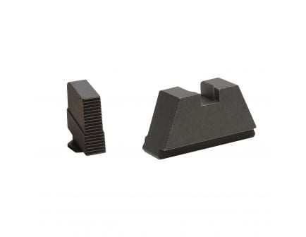 AmeriGlo Tall Suppressor 3X-Large Front/Rear Height Sight for All Glock Pistols, Black - GL506