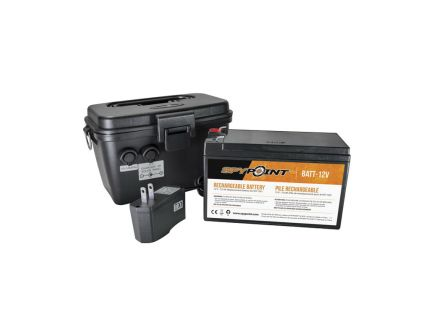 Spypoint 12 V Rechargeable Battery/Charger and Housing Kit - KIT-12V