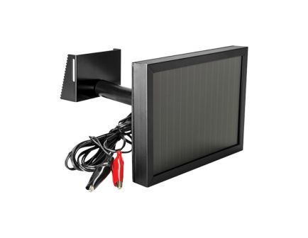 Spypoint Solar Panel w/ Adjustable Mounting Kit for Trail Cameras, 9' Cable - SP-12V
