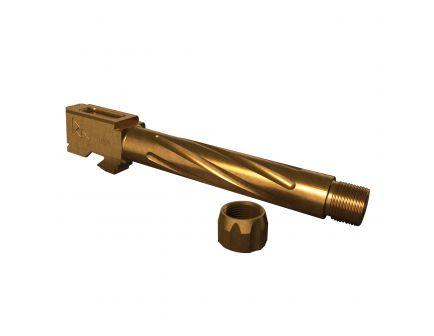 Rival Arms 9mm Drop-in Standard Barrel for Glock 17 Pistol, Bronze PVD - RA20G101C