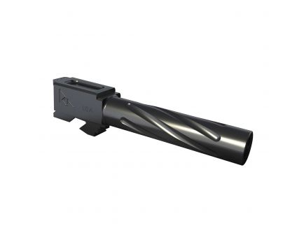 Rival Arms 9mm Drop-in Threaded Barrel for Glock 17 Pistol, Graphite PVD - RA20G102B