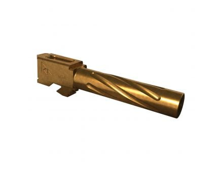 Rival Arms 9mm Drop-in Standard Barrel for Glock 19 Pistol, Bronze PVD - RA20G201C