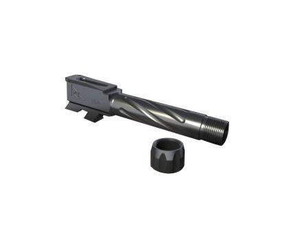 Rival Arms 9mm Drop-in Threaded Barrel for Glock 43 Pistol, Graphite PVD - RA20G302B