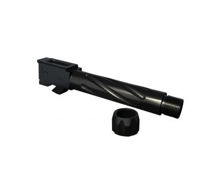 Rival Arms 9mm Drop-in Threaded Barrel for Glock 23 Pistol, Black PVD - RA20G512A