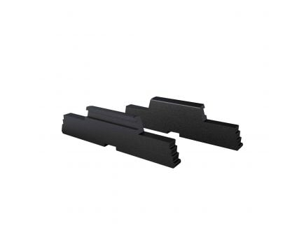 Rival Arms Precision Machined Extended Side Lock for Gen 3, 4 Glock Pistols, Black - RA80G001A