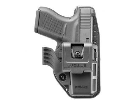 Fobus Appendix Right Hand Glock 43 Holster, Black - APN43