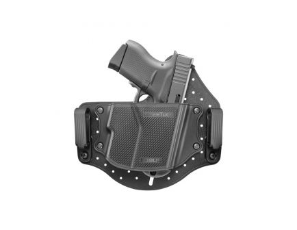 Fobus Universal IWB LaserTuck Right Hand Compact/Sub-Compact IWB Holster, Black - LASERTUCK