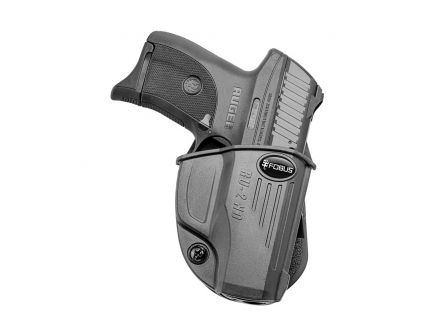 Fobus Evolution Right Hand Ruger LC9/LC380 Holster, Black - RU2ND