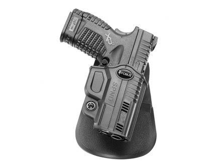 Fobus Evolution Right Hand Springfield XD-S Holster, Black - SPND