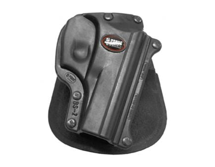 Fobus Standard Right Hand Bersa Thunder 380 Holster, Paddle Mount, Smooth Black - BS2