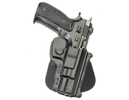 Fobus Standard Right Hand 75B/75BD Cadet 22 Holster, Smooth Black - CZ75