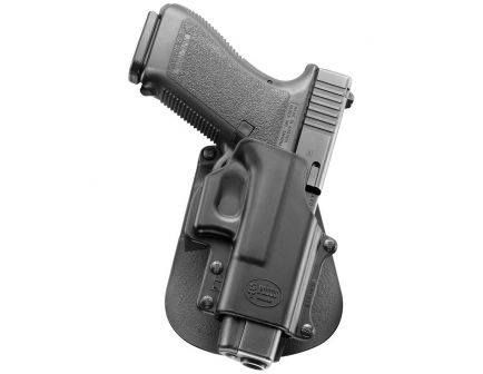 Fobus Standard Right Hand Glock 29/30/39 Holster, Paddle Mount, Smooth Black - GL4
