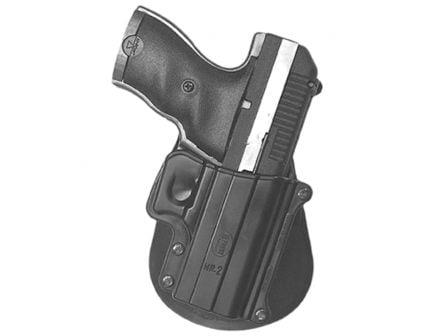 Fobus Standard Right Hand Hi-Point 9mm/380 RH Holster, Smooth Black - HP2