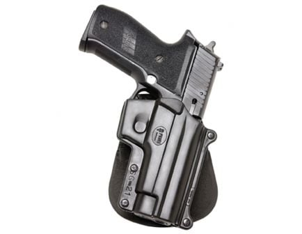 Fobus Standard Right Hand Sig P220/P225/P226 Holster, Smooth Black - SG21