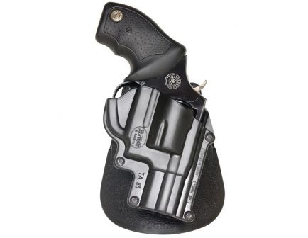 Fobus Standard Right Hand Taurus 85/850 CIA/UL85 Holster, Paddle Mount, Smooth Black - TA85