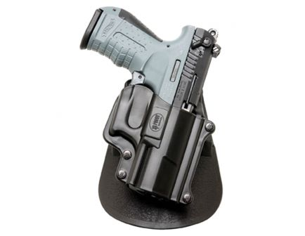 Fobus Standard Right Hand Walther P22 Holster, Smooth Black - WP22
