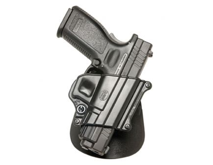 Fobus Compact Right Hand Springfield XD/XD(M) Holster, Smooth Black - SP11B