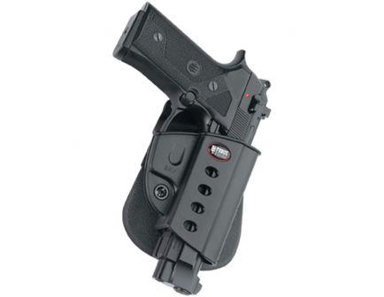 Fobus Evolution Right Hand Beretta Vertec/Taurus 92/99 Holster, Smooth Black - BRV