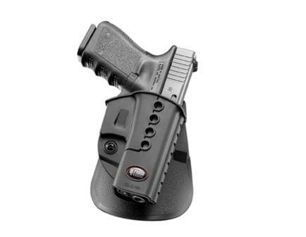 Fobus Evolution Right Hand Glock 17/19/22/23 Holster, Smooth Black - GL2E2