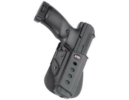 Fobus Evolution Right Hand Hi-Point 45 Holster, Paddle Mount, Smooth Black - HPP