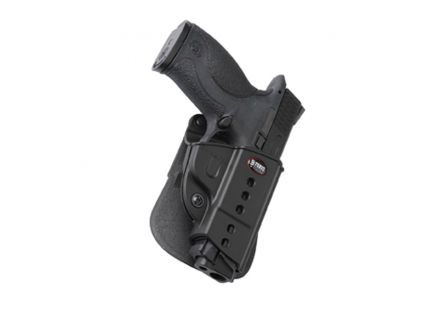 Fobus Evolution Right Hand S&W M&P Holster, Paddle Mount, Smooth Black - SWMP