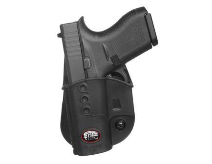 Fobus Evolution Left Hand Glock 42/43 Holster, Smooth Black - GL42NDLH