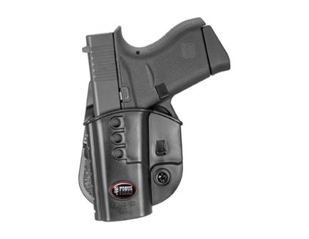 Fobus Evolution Left Hand Glock 43 Holster, Black - GL43NDLH